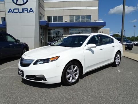 Certified Pre-Owned 2014 Acura TL  4D Sedan