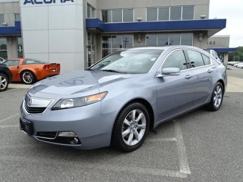Certified Pre-Owned 2012 Acura TL with Technology Package 4D Sedan