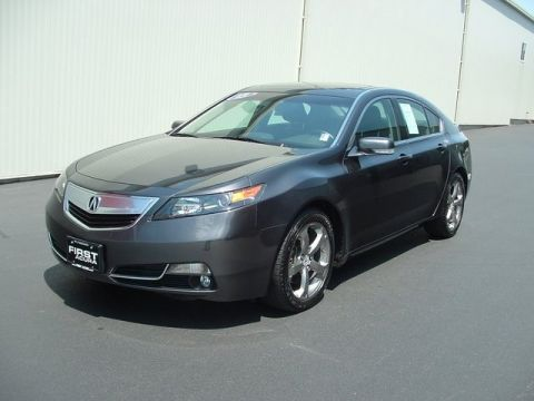 Certified Pre-Owned 2013 Acura TL SH-AWD w/Technology Package AWD