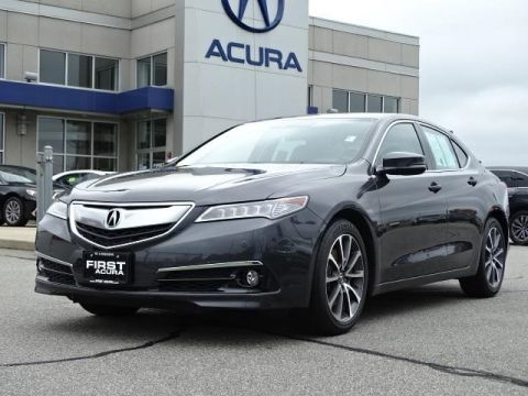Certified Pre-Owned 2015 Acura TLX 3.5 V-6 9-AT P-AWS with Advance Package 4D Sedan