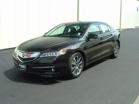 Certified Pre-Owned 2015 Acura TLX 3.5L V6 w/Advanced Package FWD 4D Sedan