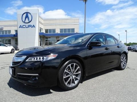 Certified Pre-Owned 2015 Acura TLX 3.5 V-6 9-AT SH-AWD with Advance Package With Navigation