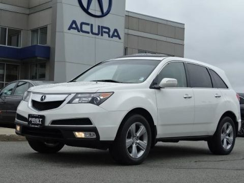 Pre-Owned 2012 Acura MDX 3.7L SH-AWD 4D Sport Utility