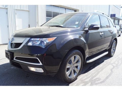 Certified Used Acura MDX with Advance and Entertainment Packages