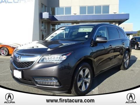 Certified Used Acura MDX SH-AWD