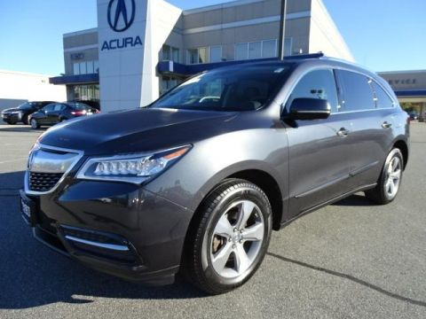 Certified Pre-Owned 2015 Acura MDX SH-AWD 4D Sport Utility