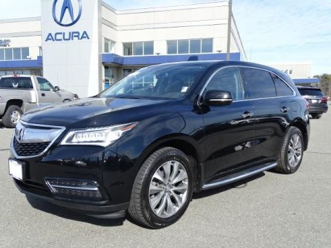 Certified Pre-Owned 2015 Acura MDX SH-AWD with Technology Package With Navigation