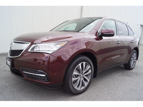 Certified Pre-Owned 2016 Acura MDX SH-AWD with Technology Package AWD