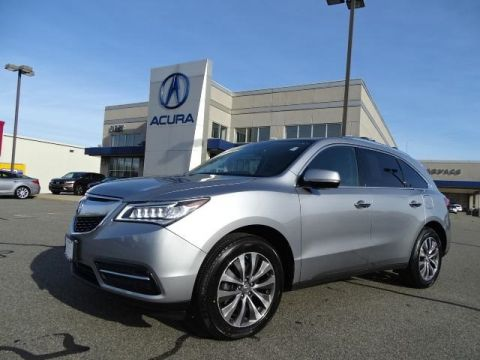 Certified Pre-Owned 2016 Acura MDX SH-AWD with Technology Package With Navigation