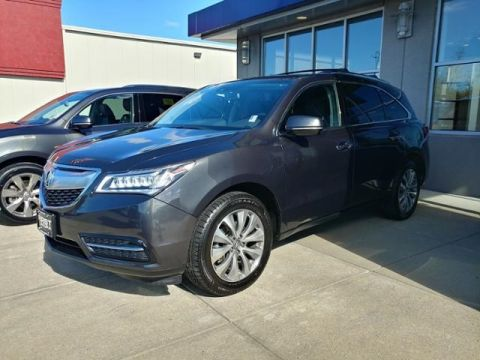 Certified Pre-Owned 2015 Acura MDX SH-AWD with Technology Package 4D Sport Utility