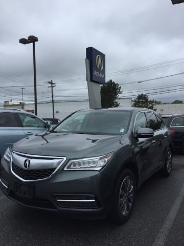 Certified Pre-Owned 2014 Acura MDX SH-AWD with Technology Package AWD 4D Sport Utility