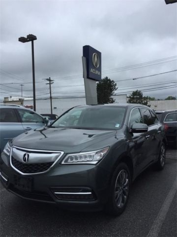 Certified Pre-Owned 2014 Acura MDX SH-AWD with Technology Package 4D Sport Utility