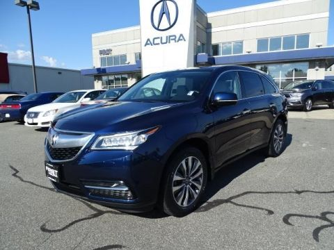 Certified Pre-Owned 2015 Acura MDX SH-AWD with Technology and Entertainment Packages 4D Sport Utility