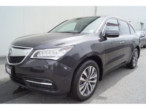 Certified Pre-Owned 2014 Acura MDX SH-AWD with Technology and Entertainment Packages 4D Sport Utility