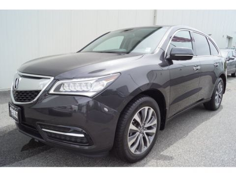 Certified Used Acura MDX SH-AWD with Technology and Entertainment Packages