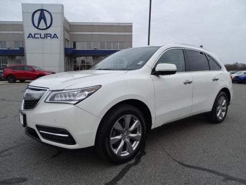 Certified Pre-Owned 2016 Acura MDX SH-AWD with Advance Package With Navigation