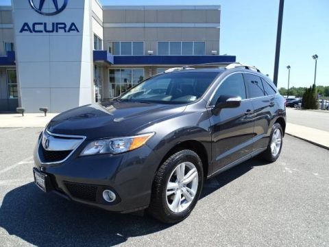 Certified Pre-Owned 2015 Acura RDX AWD with Technology Package 4D Sport Utility