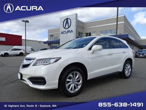 Certified Pre-Owned 2016 Acura RDX AWD with Technology Package With Navigation