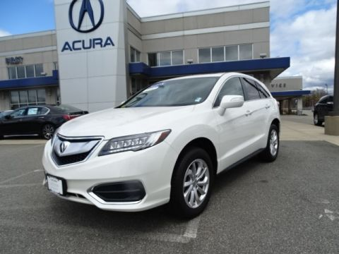 Certified Pre-Owned 2017 Acura RDX AWD with Technology Package With Navigation