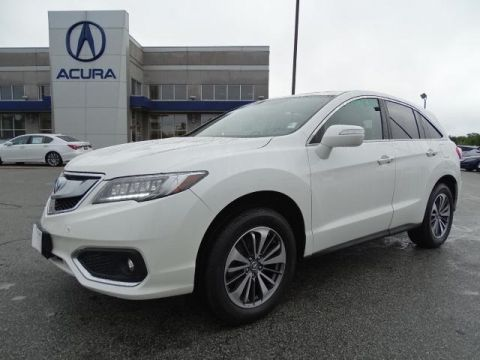 Certified Pre-Owned 2016 Acura RDX AWD with Advance Package With Navigation