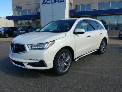 New 2018 Acura MDX AWD TECH With Navigation