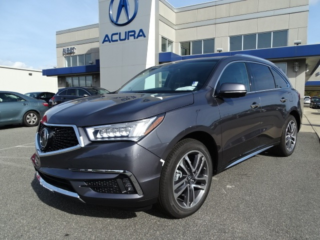Pre Owned 2017 Acura Mdx 35l Sh Awd Wadvance Package 4d Sport