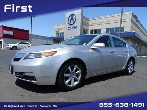 Pre-Owned 2012 Acura TL 3.5 4D Sedan