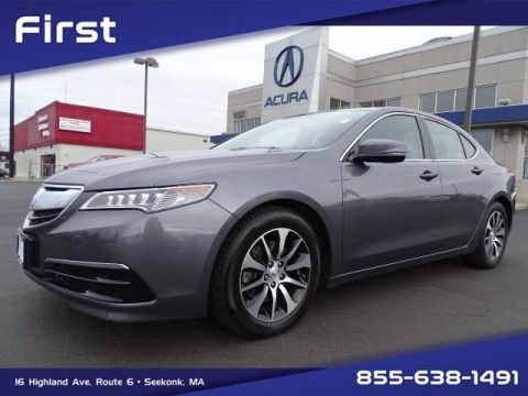 Certified Pre-Owned 2017 Acura TLX 2.4 8-DCT P-AWS with Technology Package With Navigation
