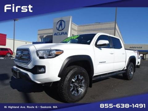 Pre-Owned 2017 Toyota Tacoma TRD Offroad V6 With Navigation & 4WD