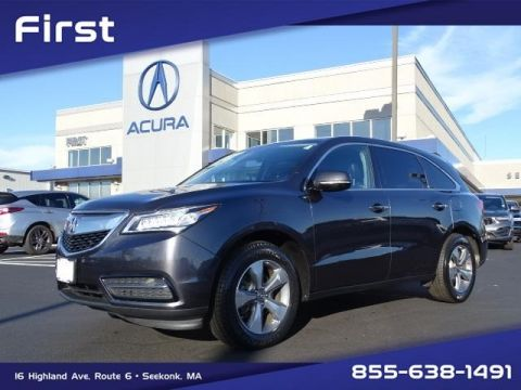 Pre-Owned 2016 Acura MDX 3.5L SH-AWD 4D Sport Utility