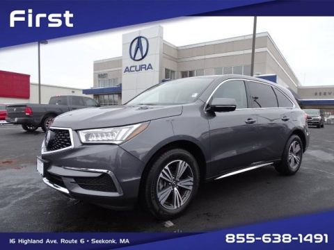 Certified Pre-Owned 2017 Acura MDX SH-AWD 4D Sport Utility
