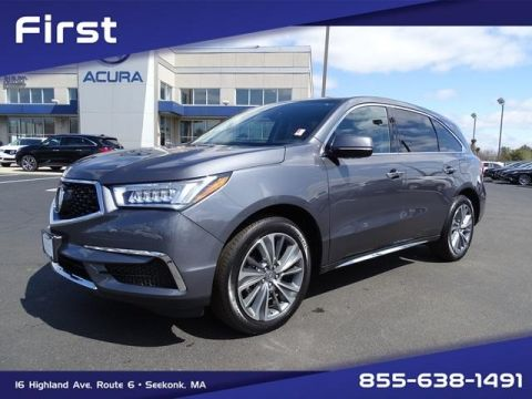 Certified Pre-Owned 2017 Acura MDX SH-AWD with Technology Package With Navigation