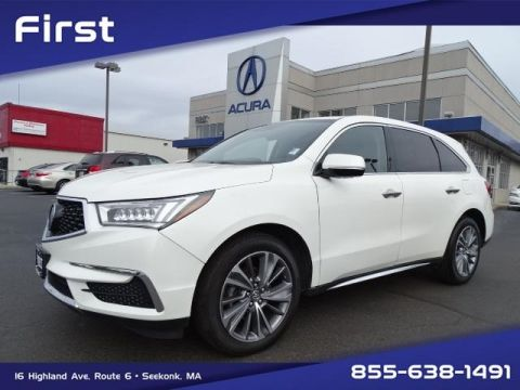 Pre-Owned 2017 Acura MDX 3.5L SH-AWD w/Technology Package With Navigation