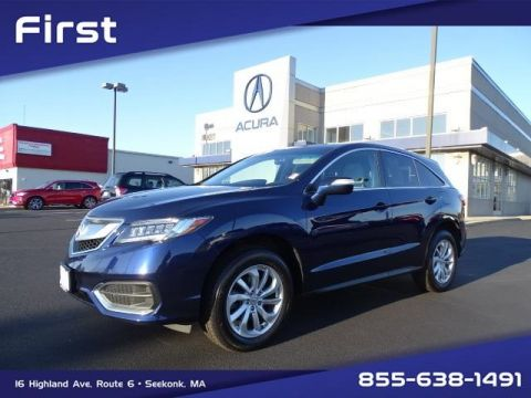 Certified Pre-Owned 2018 Acura RDX AWD with Technology Package With Navigation