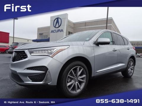 Certified Pre-Owned 2020 Acura RDX SH-AWD with Technology Package With Navigation