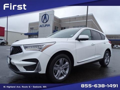 Certified Pre-Owned 2020 Acura RDX SH-AWD with Advance Package With Navigation